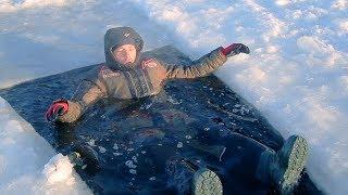 Костюм для зимней рыбалки непромокаемый