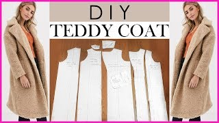 HOW TO MAKE A WINTER COAT FOR BEGINNERS + CONVERTIBLE COLLAR | PATTERN TUTORIAL | MagdelineG