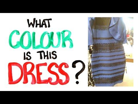 Jakou barvu mají tyto šaty?