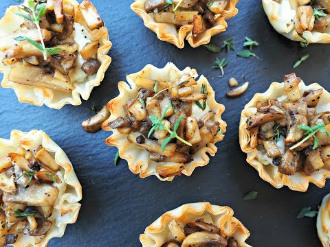 Appetizer Recipe: Mushroom and Boursin Bites by Everyday Gourmet with Blakely