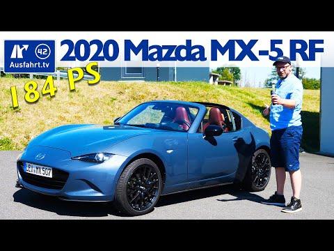 2020 Mazda MX-5 RF Edition100 SKYACTIV-G 2.0 - Kaufberatung, Test deutsch, Review, Fahrbericht
