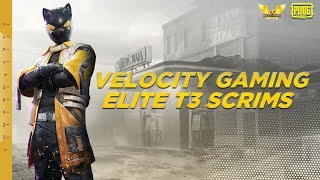 VELOCITY GAMING ELITE T3 SCRIMS | CASTER SHADOW GAMING | JOIN DISCORD FOR REGISTRATIONS!