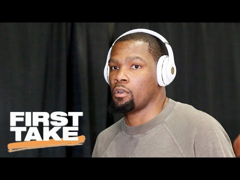Stephen A. Smith Calls Kevin Durant Disrespectful   First Take   May 22, 2017