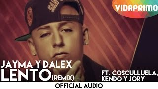 Lento - Cosculluela feat. Cosculluela (Video)