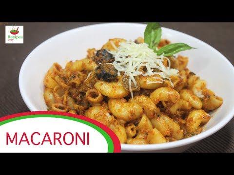 Macaroni Recipe | Indian Style Pasta Recipe | Italian Recipe