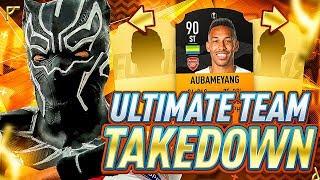 EPIC UEL MOTM AUBAMEYANG TEAM TAKEDOWN!!! FIFA 19 Ultimate Team!