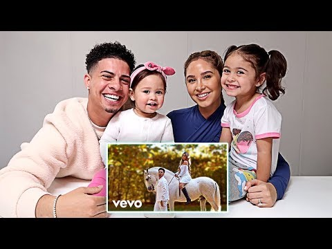 ELLE AND ALAÏA'S REACTIONS TO PARENTS NEW MUSIC VIDEO!!!