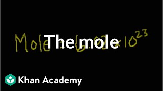 The Mole and Avogadro's Number