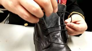 How To Lace Up Your Boots