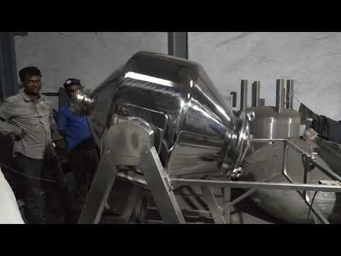 Stainless Steel Double Cone Blender