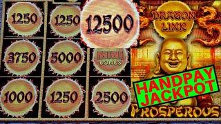 UNBELIEVABLE 😱! Dragon Link Slot Machine ✦HANDPAY JACKPOT✦ | Fantastic Session & Awesome COMEBACK