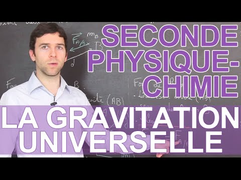 La Gravitation Universelle - Physique-Chimie - Seconde - Les Bons Profs Mp3