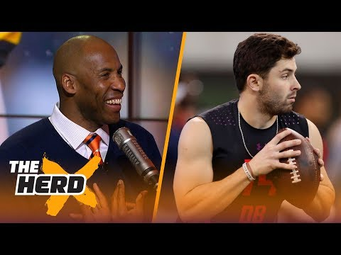 Bucky Brooks and Colin Cowherd on the 2018 NFL Draft quarterback class   THE HERD
