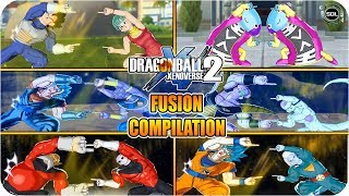 All Best Dragon Ball FUSIONS Compilation 2 - Dragon Ball Super Xenoverse