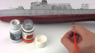 """Жидкость для имитации """"Разводы соли"""" 35 мл. AK-INTERACTIVE AK306 от компании Хоббинет. Сборные модели. - видео"""