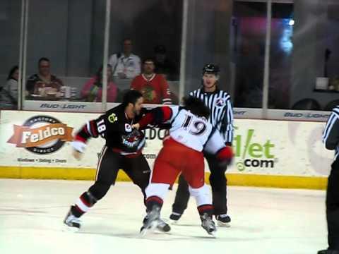 Brandon Bollig vs. Greg Amadio