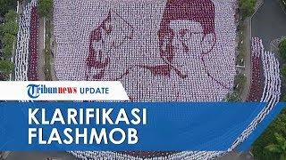 VIRAL Formasi Flashmob Bergambar Wajah BJ Habibie, Dosen UMM Berikan Klarifikasinya