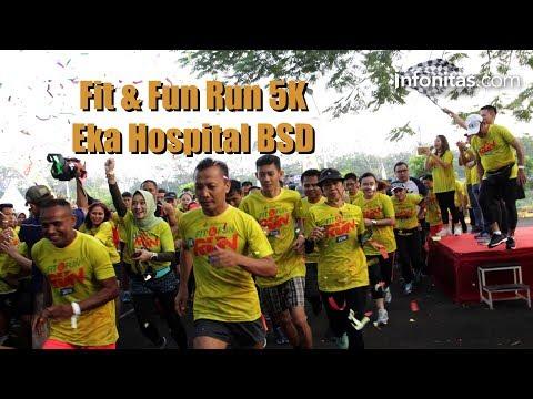 Eka Hospital Rayakan Satu Dekade Hadirkan Fit & Fun Run 5K