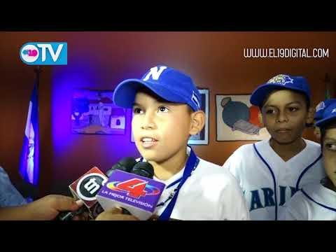 Juventud Sandinista 19J, alcaldía entregan reconocimiento a Campeones del Beísbol