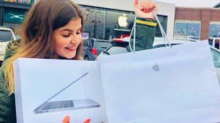 Шоппинг в Apple Store Америка Распаковка MacBook Pro