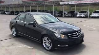 Обзор автомобиля Mercedes-Benz C250 1.8 2013