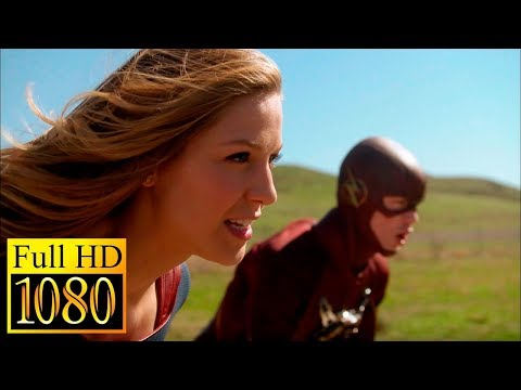 Flash vs Supergirl / race On speed