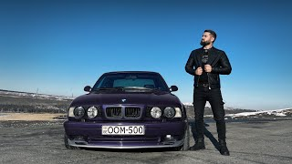 უხეში ტესტ დრაივი - BMW e34 - ეძღვნება გიორგი თევზაძის ხსოვნას! OOM - 500