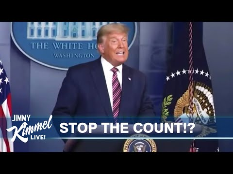 Jimmy Kimmel Blasts Trump's 'Incoherent Attack on Democracy': 'He Should Have Been Arrested' For His Lies