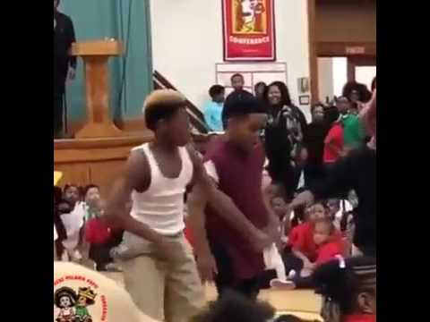 DOPE: Kids Perform As New Edition During Their School Talent Show!