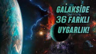Samanyolu Galaksisi'nde 36 Dünya Dışı Yaşam Olabilir!
