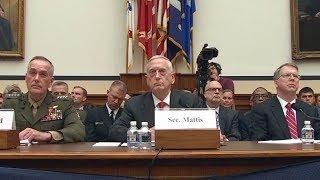 Sec. Mattis, Gen. Dunford testify on 2018 budget 06/12/17.