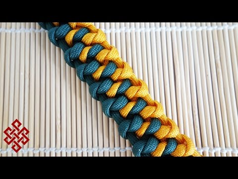 Download Diy Two Toned Snake Knot Bracelet Video 3GP Mp4 FLV HD Mp3