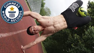 Fastest man on two hands - Meet the Record Breakers