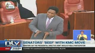 Senators have taken issue with the transfer of the Kenya Meat
