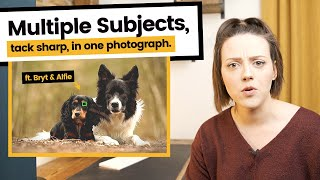 How To Get Multiple Subjects in Focus in ONE Photo | Focus on more than one subject in photography!