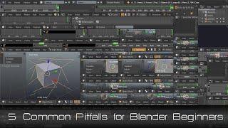 5 Common Pitfalls for Blender Beginners