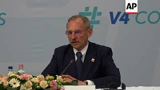 Poland's interior minister defends anti-migration stance during Visegrad meeting