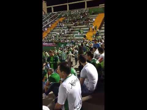 """Barra da Chape chegando - Chapecoense x San Lorenzo"" Barra: Barra da Chape • Club: Chapecoense"