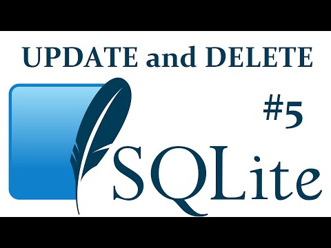 UPDATE and DELETE - SQLite3 with Python 3 part 5