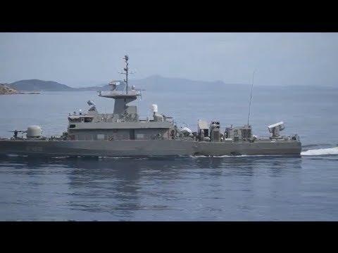Μεγάλη άσκηση του Πολεμικού Ναυτικού στη θαλάσσια περιοχή της Κρήτης