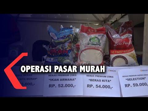 jaga stabilitas harga operasi pasar murah digelar