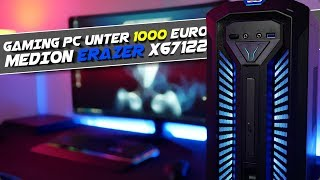 Gaming PC unter 1000€ Wie gut kann so ein PC sein ? Medion Erazer X67122