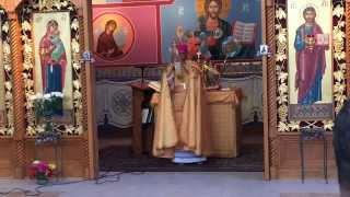 Bishop Kidane celebrating Holy Mass in Columbus Aug 9, 2015
