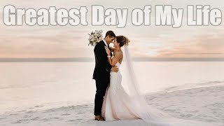 The Greatest Day of My Life - THE WEDDING - Destin, Fl - Wedding Vlog 4