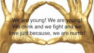 We Are Young - 30H!3 [Lyrics]