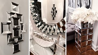 DIY FAUX MIRROR Home Decor (Wall Decor, Floor Vase + MORE)