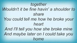 Barry Manilow - Lonely Together Lyrics_1