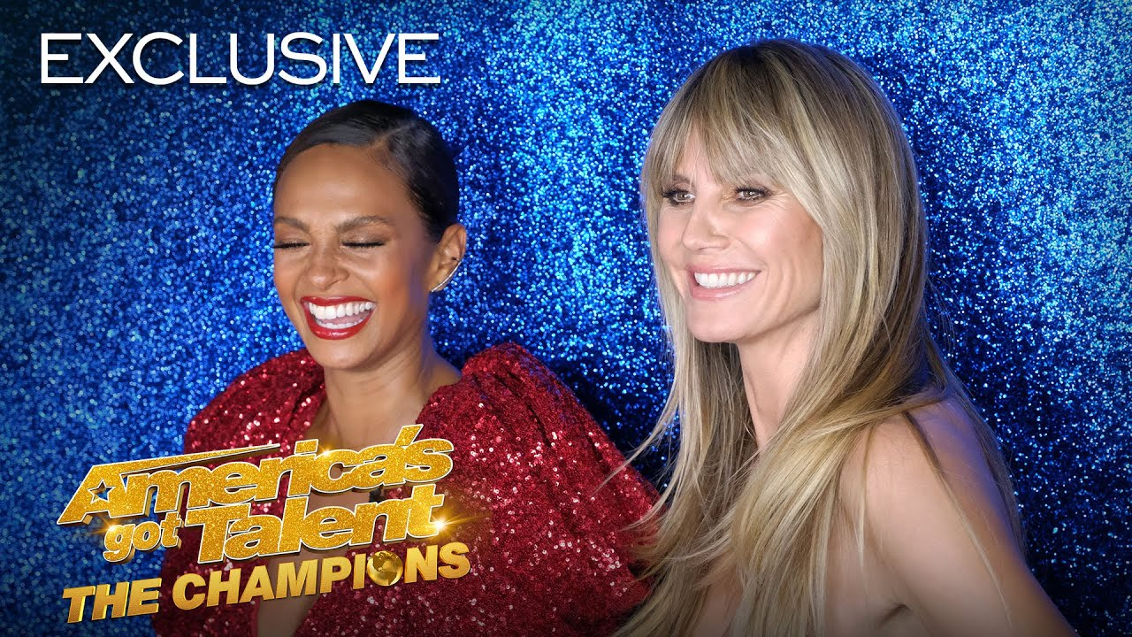 YO! Heidi Klum and Alesha Dixon Rap AND Yodel! - America's Got Talent: The Champions thumbnail