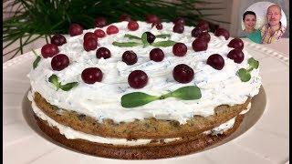 Торт который вас удивит! | Грибной закусочный торт на Пасхальный стол!