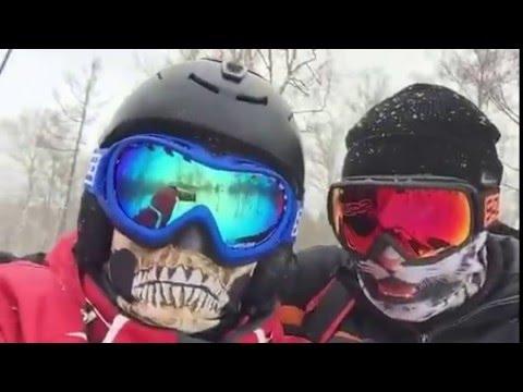 Видео: Видео горнолыжного курорта Завьялиха в Челябинская область